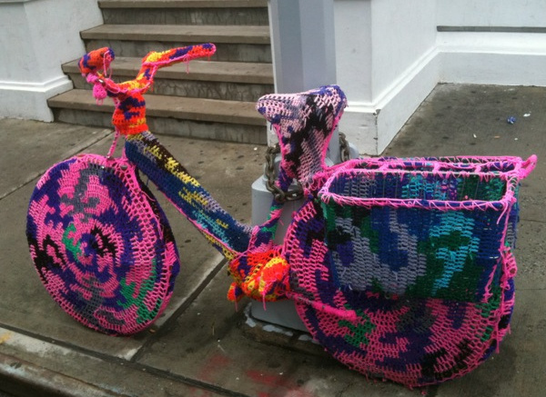 Yarn-Bombing: Craftivism and Urban Aesthetic