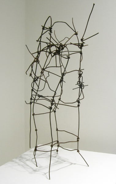 Nothingness (Michael Hosaluk), 2014: Wire. $500