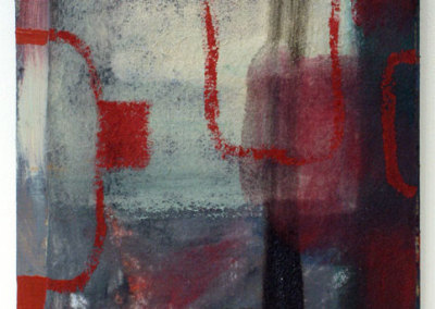 Nothing (North Sea) (Mark Dicey), 2014: Acrylic on felt and board. $500