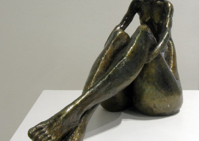 Natalia (Diane Covington), 2013: Fired terracotta clay. $1,600