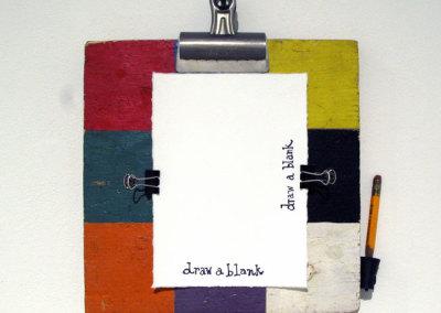 Landscape or Portrait (Bird Ross), 2014: Mixed meda. $250