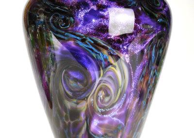 Purple Multi-Layered Vase