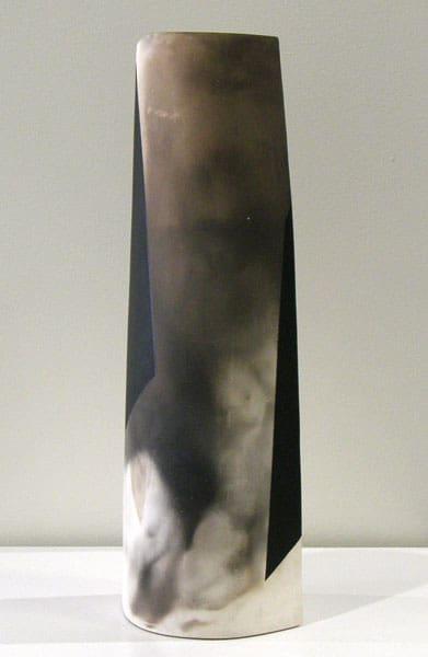 Maelstrom (Sandra Ledingham), 1984: Clay acrylic; Smoked. NFS