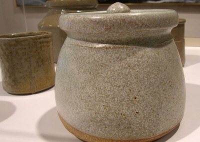 Lidded Pot II, circa 1980 - Randy Woolsey
