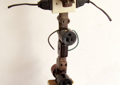 Jason Hosaluk, Saskatoon, SK - Totem, 2012. Found objects, $195