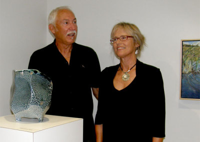 Two Perspectives Reception - Mel Bolen, Karen Holden