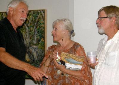 Two Perspectives Reception - Mel Bolen in Conversation