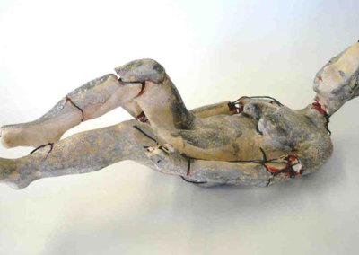 After the Fall, 2007 - Anita Rocamora - Ceramic, kanthal wire, terra sigillata, glaze, $750
