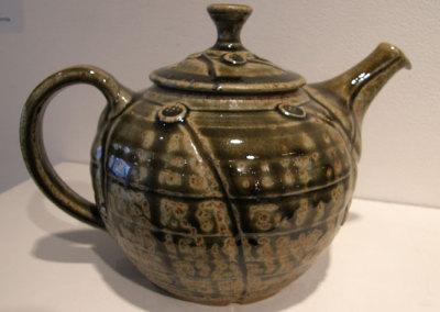 Green Wood Ash Teapot - Zach Dietrich