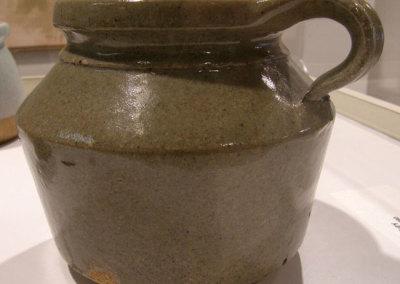 Lidded Pot I, circa 1980 - Randy Woolsey