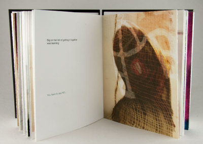 Elegy to Betty (Liz Davidson), 2013: Artists' Books