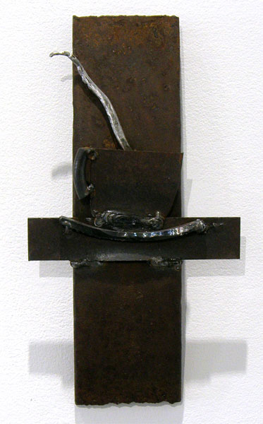Bonnie A. Conly, Pause: Carbon steel; Welding. 2012, NFS.