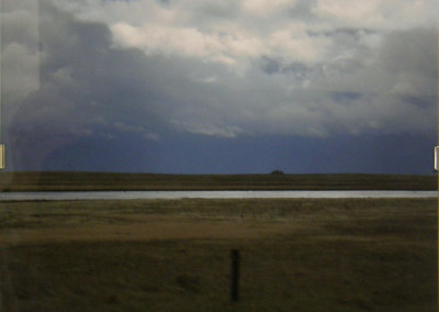 John Luther, Rushing Fence Post, Sleeping Slough: Photography. 2013, $80.