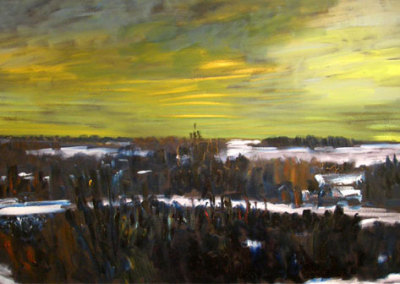 Late Afternoon, Winter, 1989-91 - Greg Hardy