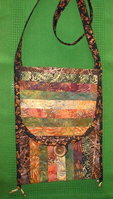 Pieced Batiked Bag