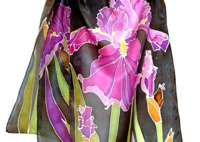 Violet Iris Scarf