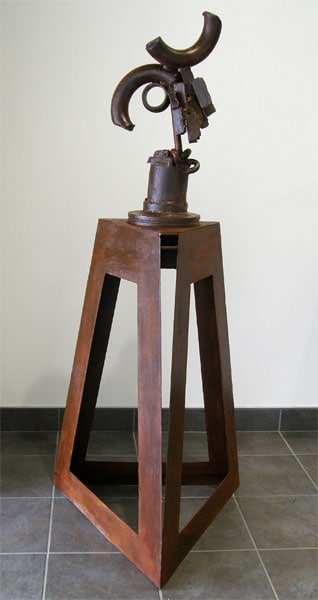 Ragnor Piece (James Korpan), 2011 – 2013: Welded Steel. $1,600
