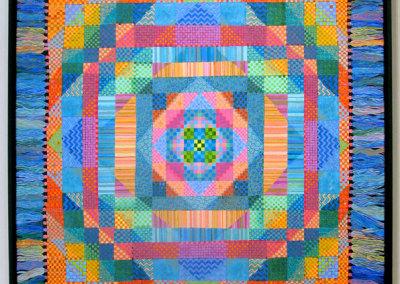 Shawl (Margaret Bremner), 2009: Acrylic. $2,500
