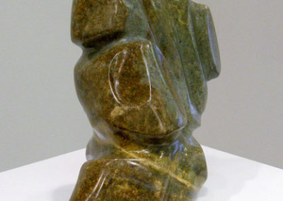Peaceful Warrior: Naomi Friesen, 2011 - Brazilian Soapstone; Hand carved and oiled. $850