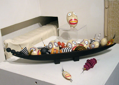 Bowl of Strange Fruit by Michael Hosaluk, Private Collection