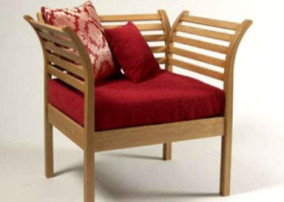 Lattice Reading Chair
