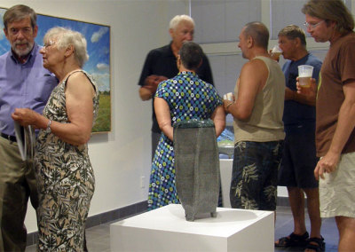 Two Perspectives Reception - Guests with Mel Bolen