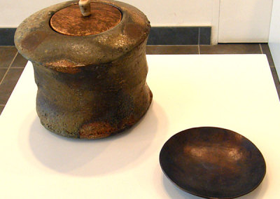 Untitled Lidded Vessel by Martin Tagseth, Private Collection