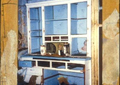 Blue Cupboard - Wendy Weseen