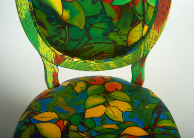Persimmon Tree Chair (front detail)