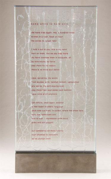 Du blanc a etreindre (Jacques Fournier), 2012: Artists' Books