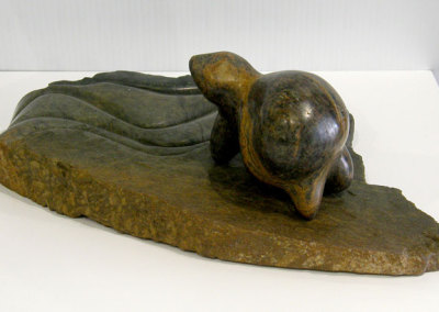 Rambling (Paula Cooley), 2013: Soapstone; carved. $1,200