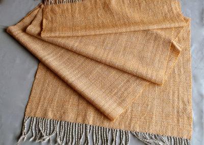 Log Cabin Shawl: Judy Haraldson, Shetland Wool