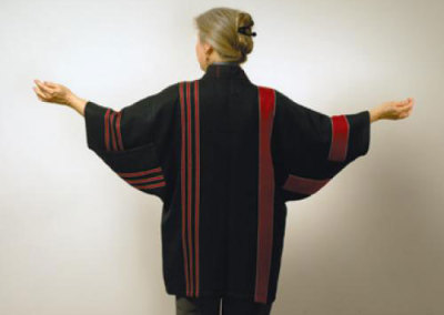 Red & Black Jacket - Judy Haraldson