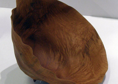 Manitoba Maple Burl (Michael Hosaluk), 1983: Manitoba maple burl; Turned. $950