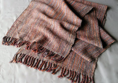 Autumn Shawl: Judy Haraldson, Merino Wool