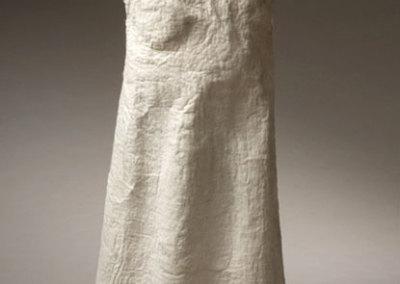 Vestal, 2007: Wool, acrylic medium; hand felted - $800