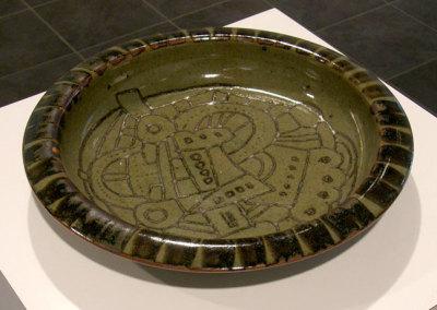 Plate, 1980 - Randy Woolsey