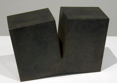 Hosaluk: 4 Wedges - 2013, Steel. $500