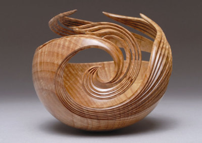 Pheonix Rising, 2009 - Leon Lacoursiere - Curly Maple, $5,000