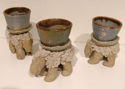 3 Sheep Cups - Wendy Parsons