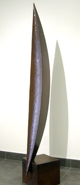 Water Watch (Daryl Richardson), 2013: Steel, oil finish. $6,500