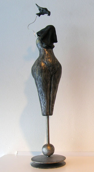 Man Hiding in his Own Shadow - Anita Rocamora (clay)