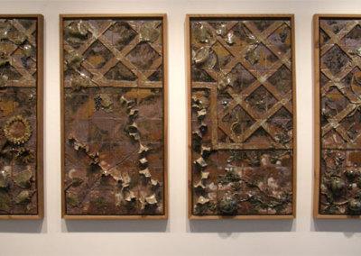 Four Panel Garden Mural - Wendy Parsons & Zach Dietrich