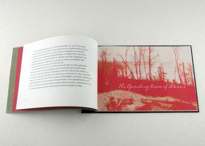 Field Hospital: The Last Writings of Lt. Colonel John McCrae (Frances Hunter), 2013: Artists' Books