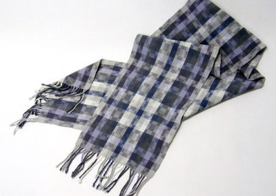 Alison Philips, Not Quite a Best Seller - 49 Shades of Grey: Cotton; hand weaving. 2012, $70.