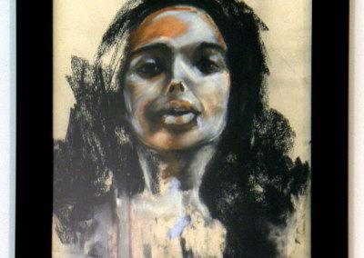 Untitled: Brandi Hofer, 2011 - Chalk pastel. NFS $800