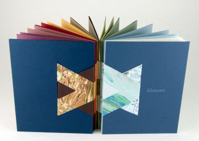Elements (Linda Johnson), 2011: Artists' Books