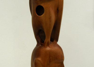 Owl Spirit (Paul Lapointe) 2013: Cedar. $1,500.