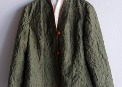 Green Silk Jacket - Berna Ostapovitch