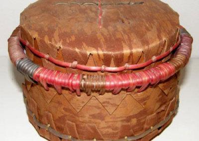Lidded Birch Bark Basket - Doreen Sanderson